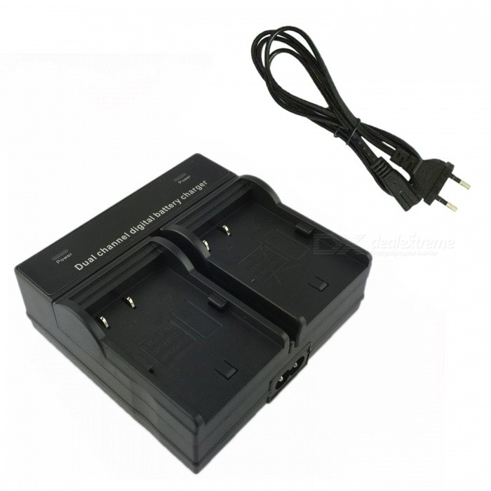 Ismartdigi BP511 Digital Camera Battery Dual Charger for Canon