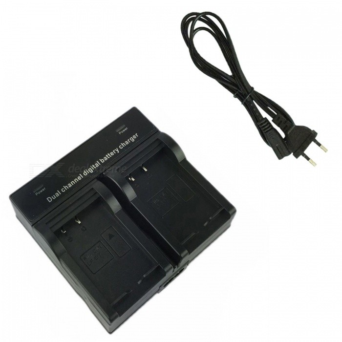 Ismartdigi LPE17 Digital Camera Battery Dual Charger for Canon