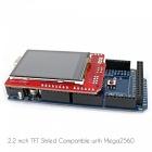 "OPEN-SMART 2.2"" TFT LCD de pantalla táctil de expansión Shield w / Touch Pen"