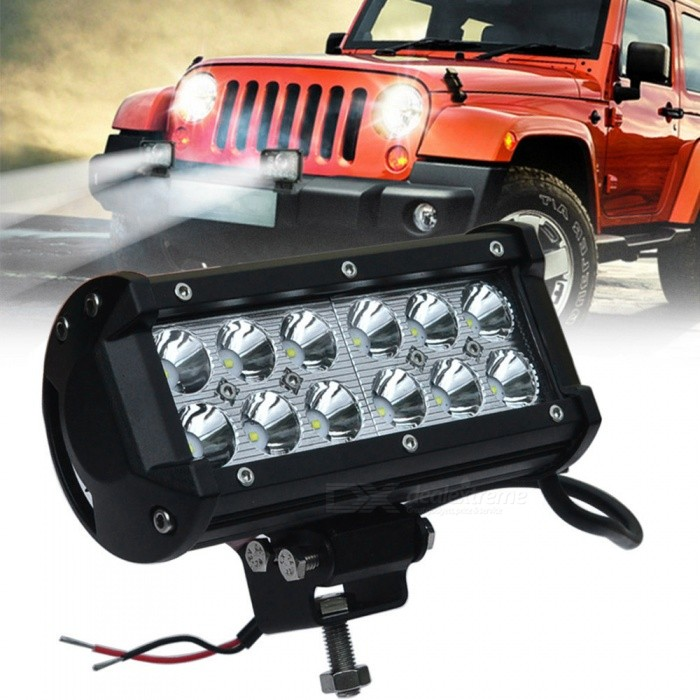 Buy JIAWEN 36W Car Work Light 6000K LED Spotlight Head Lamp DC12~24V with Litecoins with Free Shipping on Gipsybee.com