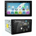 "Junsun 7"" 2 Din Android 6.0 GPS Auto DVD Video Player - Musta + hopea"
