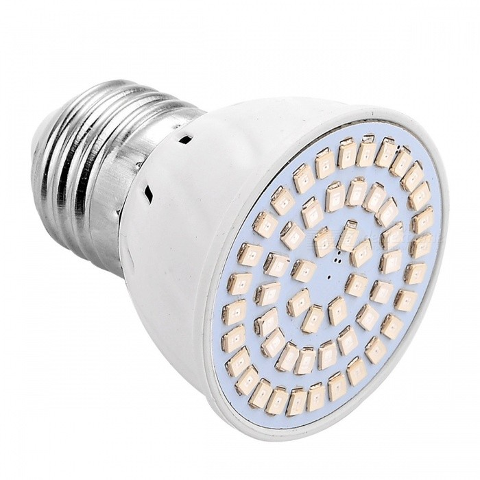 Buy YWXLight E27 4W 54-LED 2835 SMD 2835 Red + Blue LED Plant Growth Light with Litecoins with Free Shipping on Gipsybee.com