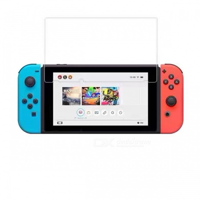 Buy Tempered Glass Screen Protector for Nintendo Switch with Litecoins with Free Shipping on Gipsybee.com