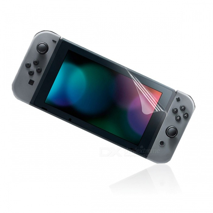 Buy Clear HD PET Screen Protectors for Nintendo Switch (3 PCS) with Litecoins with Free Shipping on Gipsybee.com