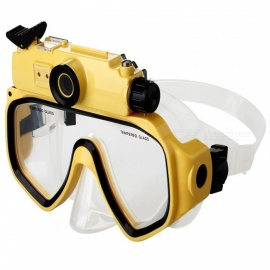 20m Snorkeling Scuba 720P Digital Diving Camera Mask