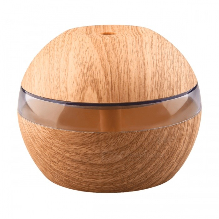 Buy YK30S Ultrasonic Wooden USB Aroma Humidifier Diffuser - Light Brown with Litecoins with Free Shipping on Gipsybee.com