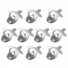 Wall-Mounted-Unique-design-Metal-Beer-Bottle-Openers-Silver-(10PCS)