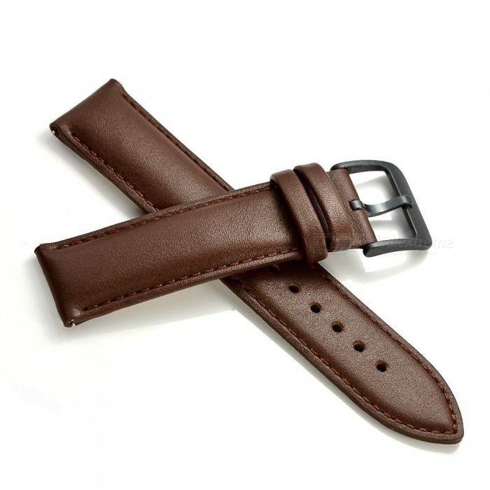 Classic | Leather | Smart | Watch | Brown | Band
