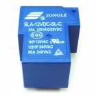 High Quality SLA-12VDC-SL-C DC 12V SONGLE Tehorele (2kpl)-Sininen