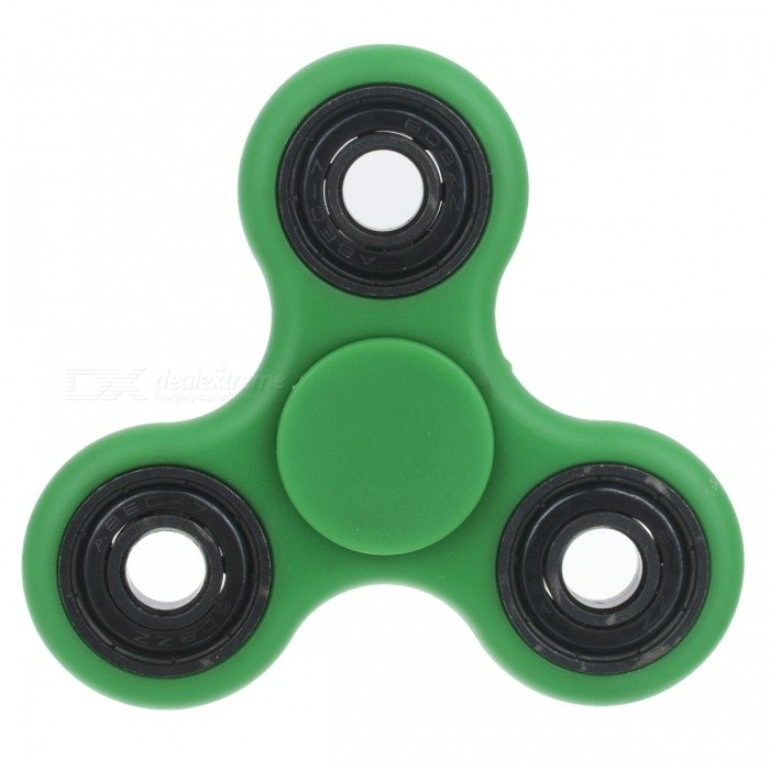 BLCR Tri-Spinner Fidget Toy EDC Hand Spinner for Autism - Green