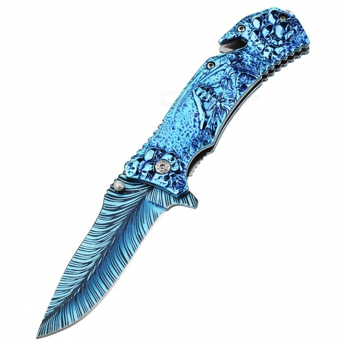 CTSmart Personality Colorful Outdoor Camping Survival Knife
