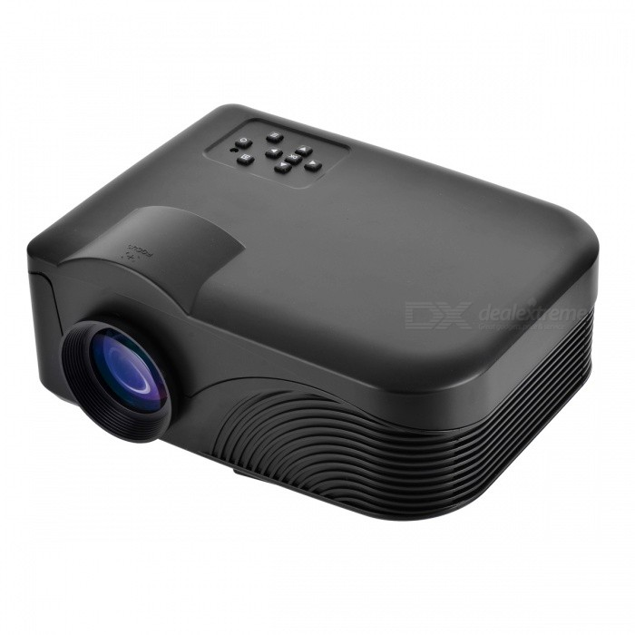 8254470b9 Mini LED-4018 HD LED Projector With Remote Control - Black - Free ...