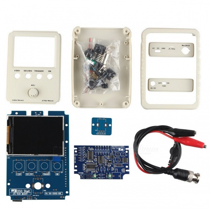 Buy Hengjiaan DSO Shell Digital Oscilloscope DIY Kit with Litecoins with Free Shipping on Gipsybee.com