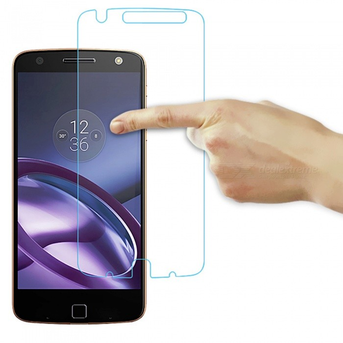 94a55cf8ad2 ... Dazzle Colour Tempered Glass Screen Protector for Moto Z (XT1650) ...