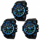 SKMEI-1155-50M-Waterproof-Multifunction-Sport-Watch-Blue-(3-PCS)
