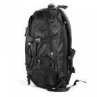 Outdoor Multifunktions Nylon Abnehmbarer Trolley Rucksack - Schwarz