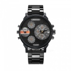 CAGARNY-6836-Fashion-Stainless-Steel-Quartz-Analog-Wrist-Watch-Black