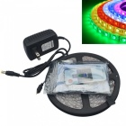 JIAWEN Vodotěsný 5M RGB Flexible LED Strip Light w / RF Controller