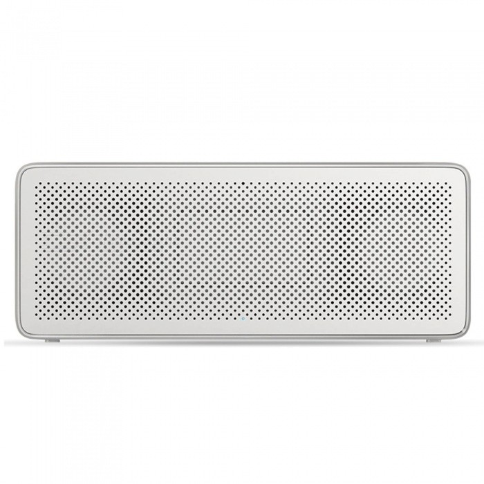 Buy Xiaomi Mi Square Box Portable Stereo Bluetooth Speaker 2 - White with Litecoins with Free Shipping on Gipsybee.com