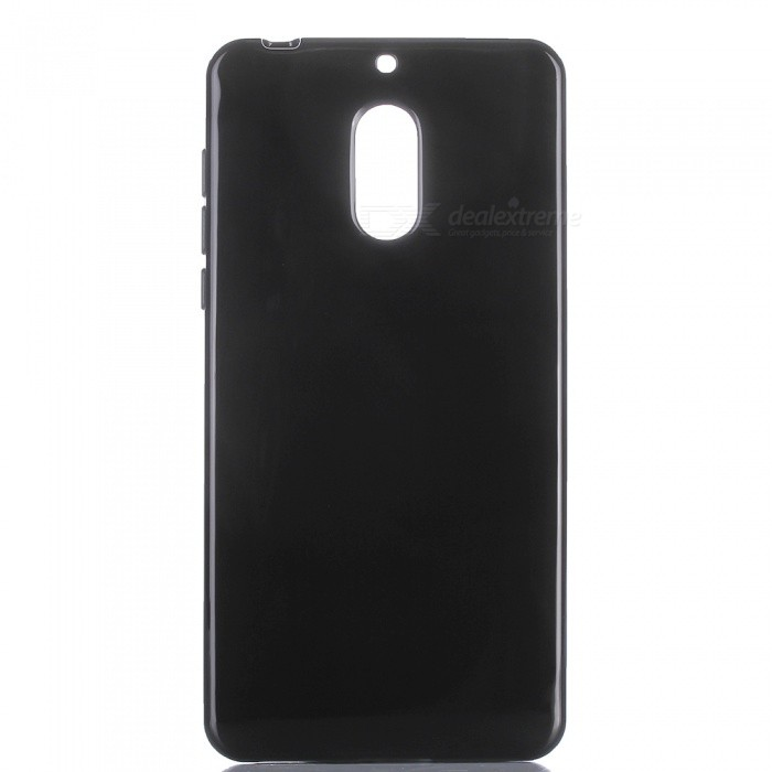 Protective TPU Back Case for NOKIA 6 - BlackTPU Cases<br>Form  ColorBlackModelN/AMaterialTPUQuantity1 pieceShade Of ColorBlackCompatible ModelsNOKIA 6Packing List1 x Case<br>
