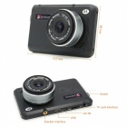 "Junsun 4"" IPS FHD 1080P Auto DVR Camera Video Recorder w / Dual Lens"