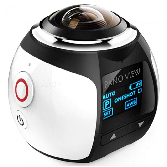 Mini Ultra HD Panorama Wi-Fi 360 Degree Action Camera for sale for the best price on Gipsybee.com.