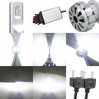MZ H7 70W / setti LED Conversion ajovalopolttimon Kit 360 asteen Canbus EMC