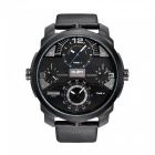 Oulm-Full-Steel-Four-Movement-Oversize-Case-Mens-Quartz-Watch-Blue