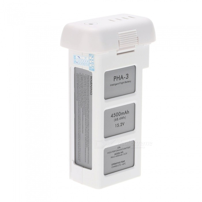 Buy 4S 4500mAh 15.2V Intelligent Battery for DJI Phantom 3 Professional with Litecoins with Free Shipping on Gipsybee.com