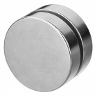 JEDX-40-x-10mm-Strong-Round-NdFeB-Magnets-Silver-(2-PCS)