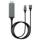 Cwxuan-USB-Female-to-HDMI-Adapter-Cable-for-IPHONE-Android-(18m)