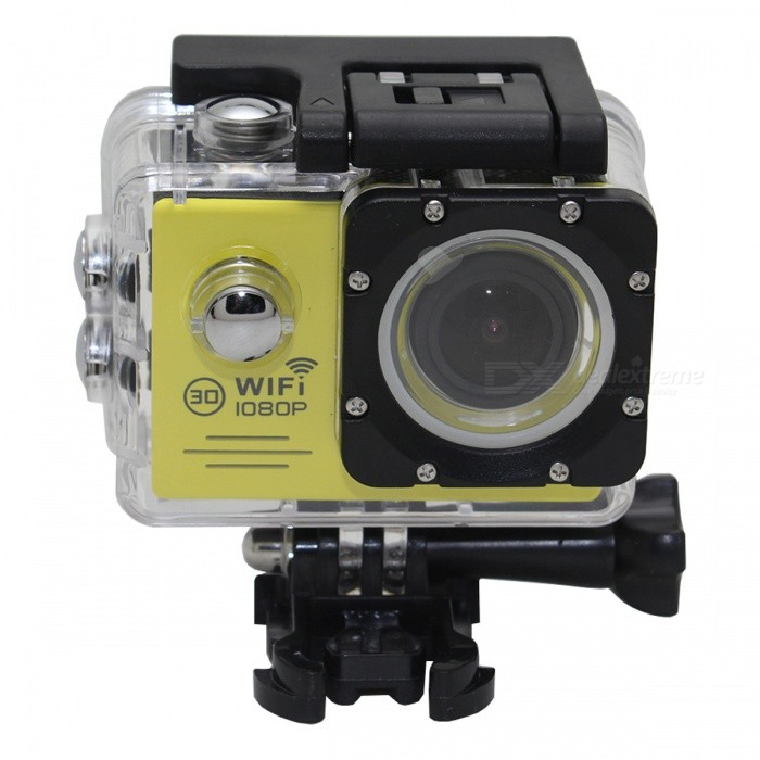 SJ7000 High Definition 1080P Wi-Fi Diving Aerial Sports Camera -Yellow