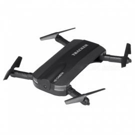 JXD 523 Wi-Fi FPV Foldable Mini Drone RC Quadcopter w/ Camera - Black