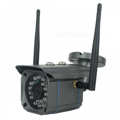 Waterproof Wireless Wi-Fi Surveillance Camera for Home / Outdoor