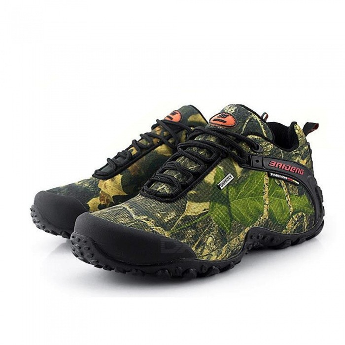 Buy Waterproof Camouflage Maple Leaf Climbing Shoes - Khaki Yellow (41#) with Litecoins with Free Shipping on Gipsybee.com
