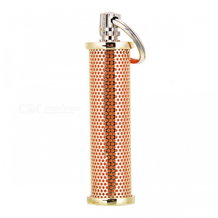 Buy Multi-Functional Outdoor Metal Ignitor Ligher w/ Key Ring - Golden with Litecoins with Free Shipping on Gipsybee.com
