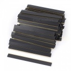 1x40-Pin-254mm-Pitch-Straight-Single-Row-PCB-Female-Headers-(80PCS)