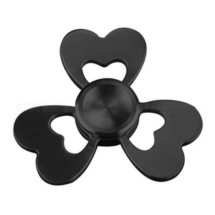 Clover Style Creative Funny Metal Spinner Fidget Toy - BlackFinger Toys<br>Form  ColorBlackMaterialStainless steelQuantity1 DX.PCM.Model.AttributeModel.UnitSuitable Age 8-11 years,12-15 years,Grown upsPacking List1 x Hand spinner<br>