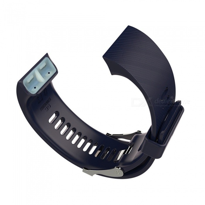 Replacement Smart Watch Strap for Garmin forerunner 35 - Deep BlueWearable Device Accessories<br>Form  ColorDeep BlueQuantity1 DX.PCM.Model.AttributeModel.UnitMaterialSiliconePacking List1 x Strap1 x Screwdriver4 x Screws<br>