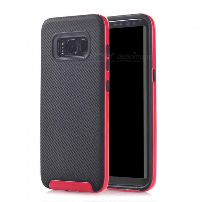 Protective PC Back Case for Samsung Galaxy S8 Plus - Red - Free Shipping - DealExtreme