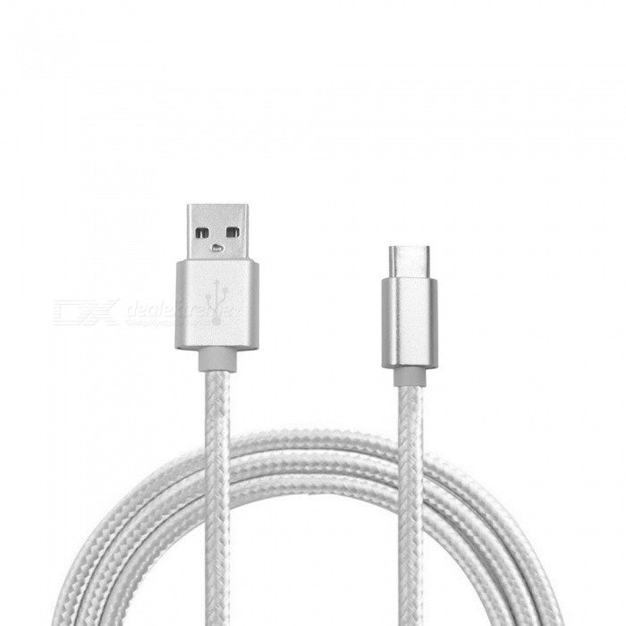 Nylon Braided USB Type-C USB-C Charger Cable for Nintendo Switch (2m)Cables &amp; Adapters<br>Form  ColorSilver (2M)Quantity1 DX.PCM.Model.AttributeModel.UnitMaterialABSShade Of ColorSilverCompatible ModelsOthers,Nintendo SwitchPacking List1 x Nylon Braided USB Type-C USB-C Charger Cable<br>