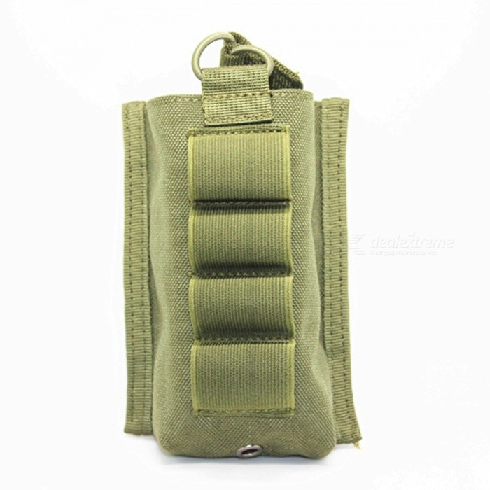 Outdoor Multifunctional Ammo Clip Storage Bag - Army Green / Black / Brownish Yellow