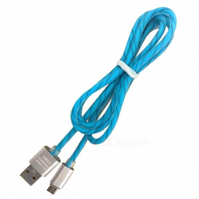 Micro USB / V8 Double Candy Line / Mobile Fast Charge Cable