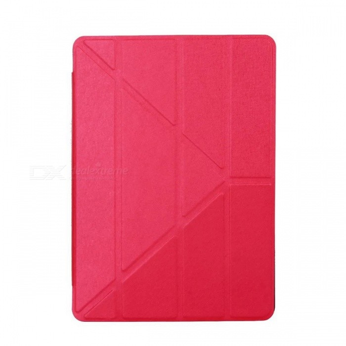 Dayspirit Protective PU Leather Case Cover for IPAD Pro 9.7 - RedIpad Cases<br>Form  ColorRedQuantity1 DX.PCM.Model.AttributeModel.UnitMaterialPU LeatherShade Of ColorRedCompatible ModelsOthers,IPAD Pro 9.7DesignSolid Color,With StandTypeLeather CasesAuto Wake-up / SleepYesPacking List1 x Case<br>