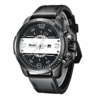Oulm-Oversize-Case-Leather-Strap-Mens-Quartz-Watch-Black