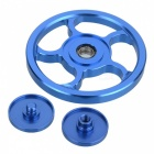 BLCR Five Leaves Hand Spinner Fidgets Fingertip Gyro - Blue