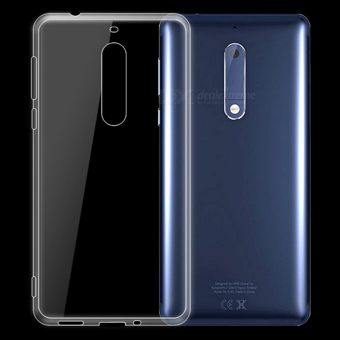 Dayspirit Ultra-Thin TPU Back Cover Case for NOKIA 5 - Transparent