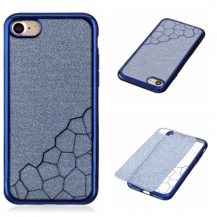 Dx coupon: BLCR TPU Cell Phone Back Case for IPHONE 7 - Blue