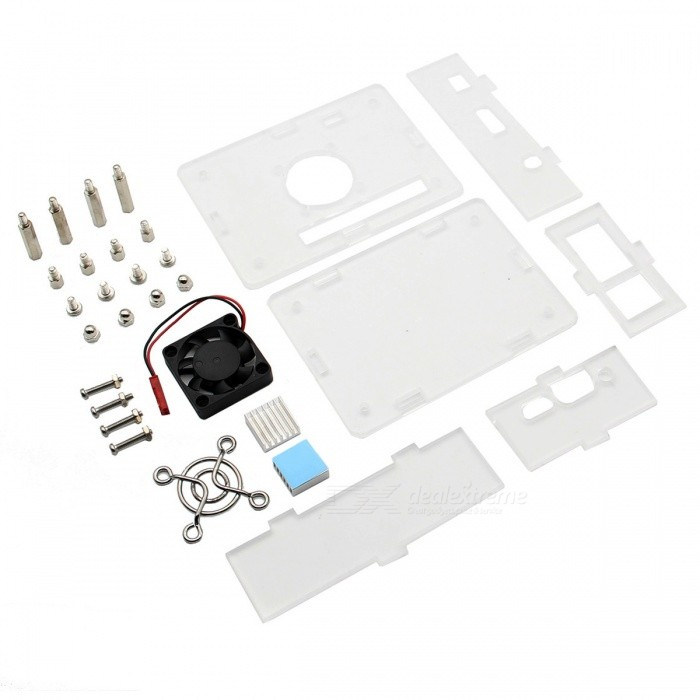 Wireless Control 5X Adhesive Aluminum Heat Sink Cooling Kit for Orange Pi PC//One//Lite