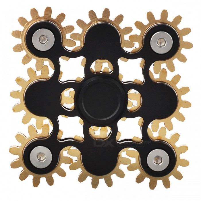 Buy Zanhoo Aluminum Brass R188 Steel Hand Fidget Spinner EDC Toy - Black with Litecoins with Free Shipping on Gipsybee.com